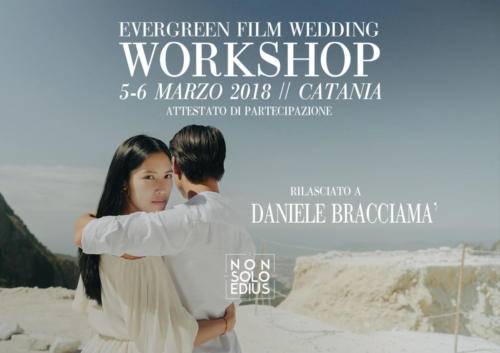 Film wedding -Evergreen Catania